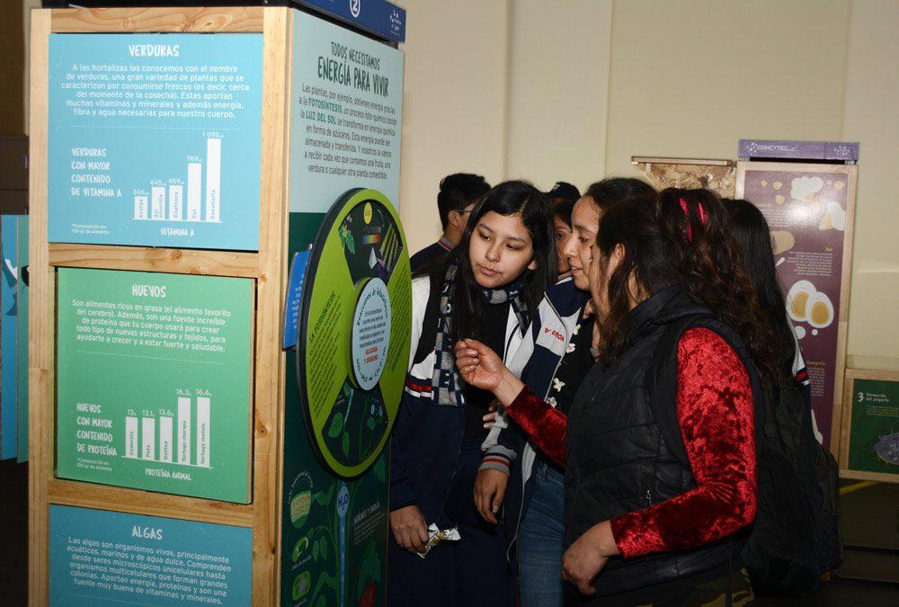 Exposiciones itinerantes para la sensibilización en temas de ciencia y tecnología