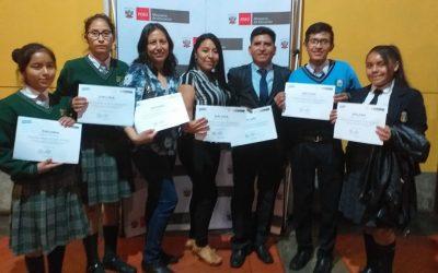 Ministerio de Educación promoverá Beca Talento para escolares de quinto de secundaria que hayan destacado en concursos educativos nacionales o internacionales